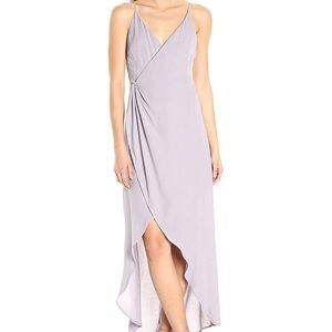 ASTR | Lilac Wrap High Low Dress | Small